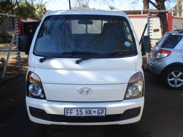 2016 Hyundai H100 Bakkie 2.6 D  Dropside Gauteng Randburg_0