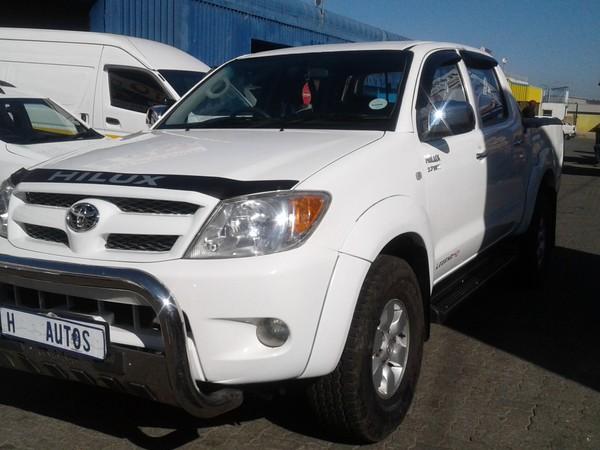 2007 Toyota Hilux 2.7vvt-i Raider Pu Dc  Gauteng Johannesburg_0