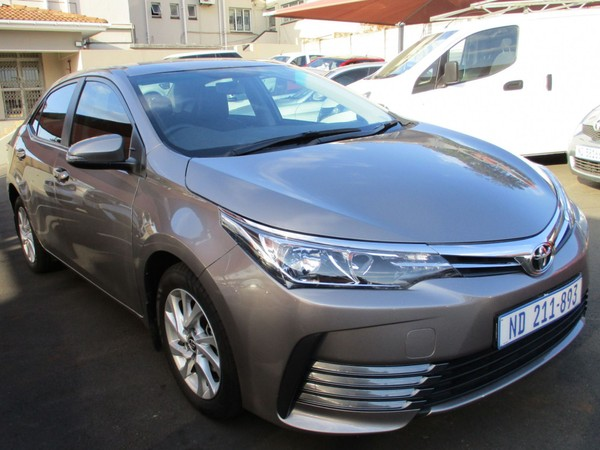 2018 Toyota Corolla 1.4D Prestige Kwazulu Natal Bluff_0