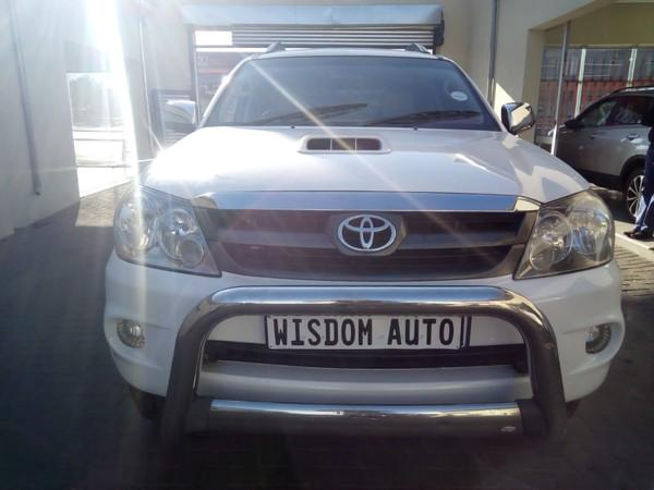 2009 Toyota Fortuner 3.0d-4d 4x4 At  Gauteng Johannesburg_0