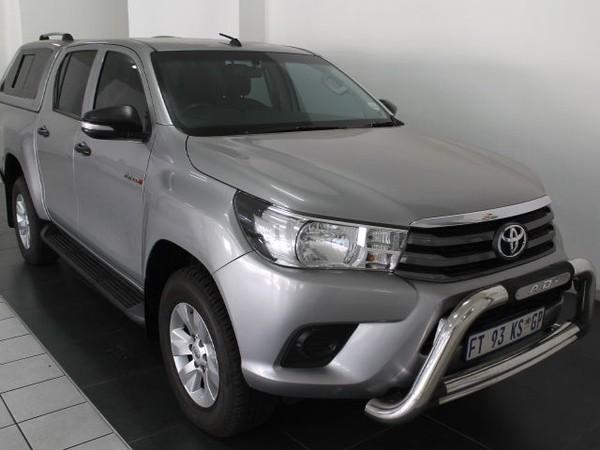 2017 Toyota Hilux 2.4 GD-6 RB SRX Double Cab Bakkie Gauteng Centurion_0