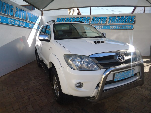 2007 Toyota Fortuner 3.0d-4d 4x4  Western Cape Somerset West_0