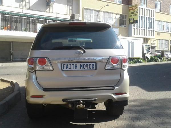 2014 Toyota Fortuner 3.0d-4d 4x4 automatic  Gauteng Johannesburg_0