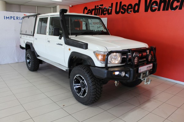 2013 Toyota Land Cruiser 79 4.0p Pu Dc  Gauteng Edenvale_0