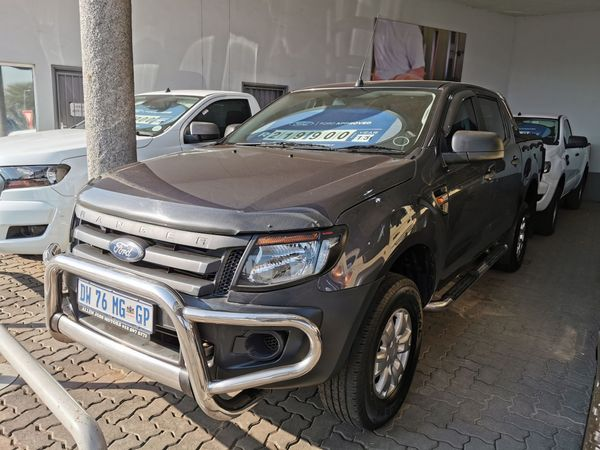 2015 Ford Ranger 2.2TDCi XL Double Cab Bakkie Gauteng Pretoria_0