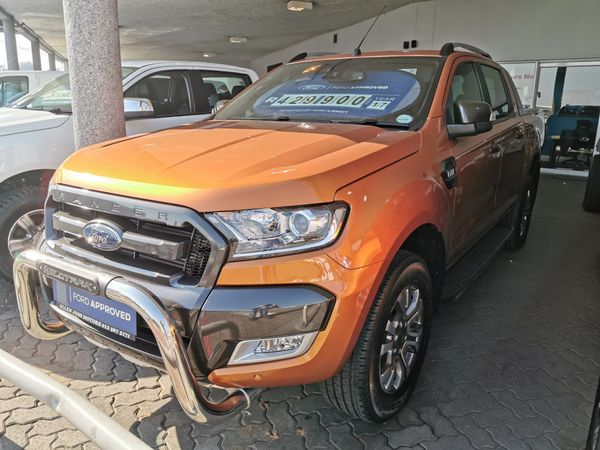 2017 Ford Ranger 3.2TDCi WILDTRAK Auto Double Cab Bakkie Gauteng Pretoria_0