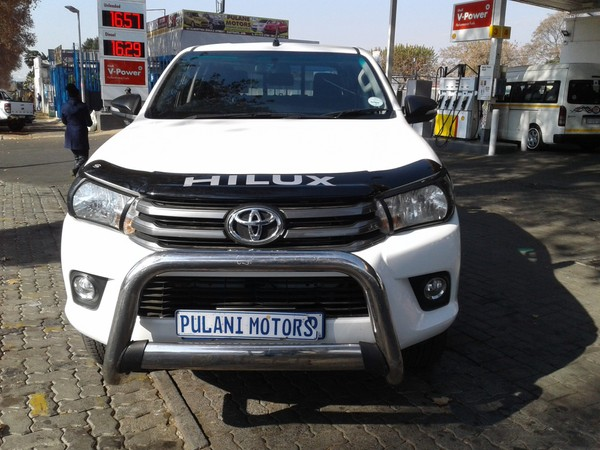 2018 Toyota Hilux 2.4 GD-6 RB SR Double Cab Bakkie Gauteng Johannesburg_0