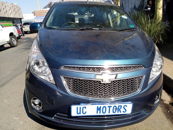 2012 Chevrolet Spark 1.2 Ls 5dr  Gauteng Germiston_0