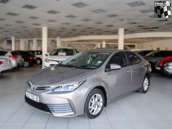 2017 Toyota Corolla 1.6 Prestige Eastern Cape Port Elizabeth_0