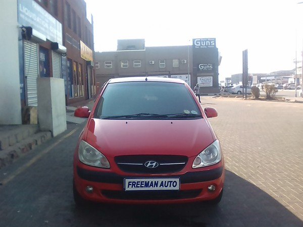 2011 Hyundai Getz 1.6 Hs  Gauteng Bramley_0