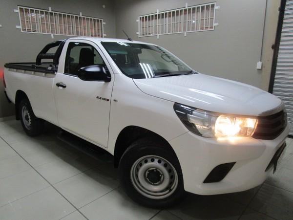 2016 Toyota Hilux 2.4 GD-6 RB SRX Single Cab Bakkie Gauteng Benoni_0