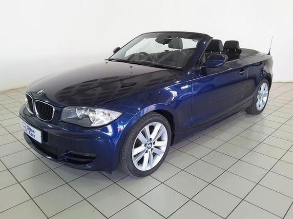 2010 BMW 1 Series 120i Convertible  Gauteng Pretoria_0