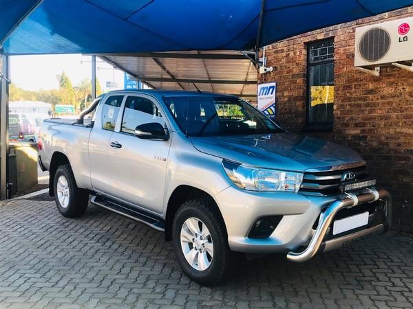2016 Toyota Hilux 2.4 GD-6 RB SRX PU ECAB Gauteng Centurion_0
