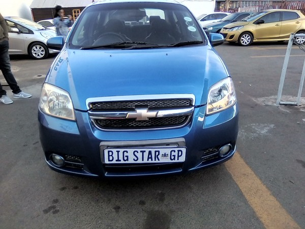 2007 Chevrolet Aveo 1.6 Lt  Gauteng Johannesburg_0