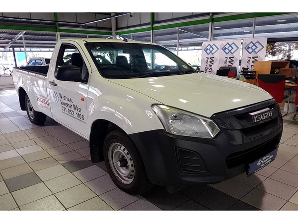 2019 Isuzu D-MAX 250C Single Cab Bakkie Western Cape Somerset West_0