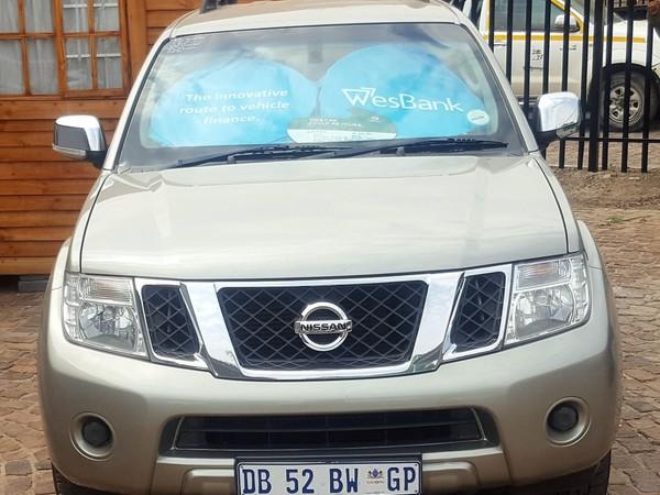 2014 Nissan Pathfinder 2.5 Dci Se At  Gauteng Kempton Park_0