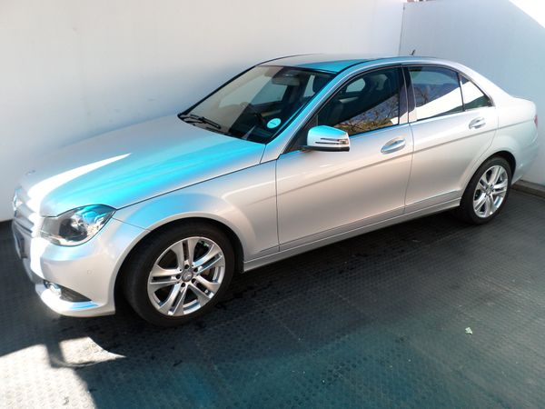 2013 Mercedes-Benz C-Class C200 Be Avantgarde At  Gauteng Randburg_0