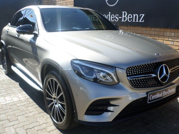 2019 Mercedes-Benz GLC COUPE 250d AMG Automatic  Gauteng Pretoria_0