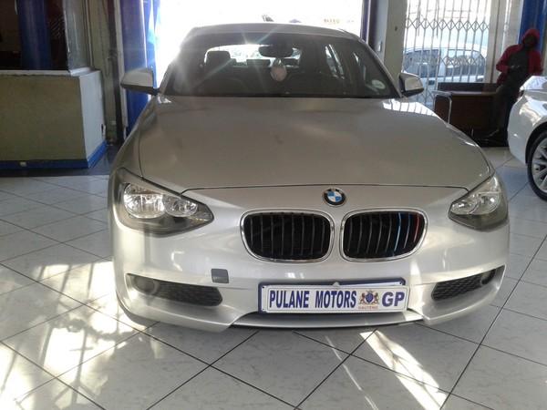 2013 BMW 1 Series 116i M Sport Line 5dr f20  Gauteng Johannesburg_0
