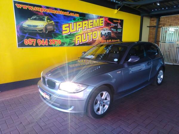2010 BMW 1 Series 118i Exclusive 3dr At e81  Gauteng Pretoria_0