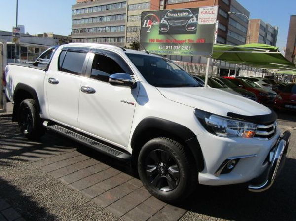 2019 Toyota Hilux 2.8 GD-6 Raider 4X4 Auto Double Cab Bakkie Gauteng Johannesburg_0