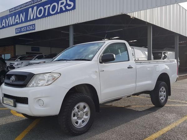 2011 Toyota Hilux 2.5 D-4d Srx 4x4 Pu Sc  Western Cape Strand_0