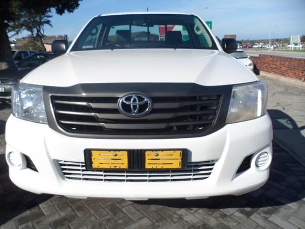 2016 Toyota Hilux 2.5 D-4d Srx Rb Pu Sc  Eastern Cape Port Elizabeth_0