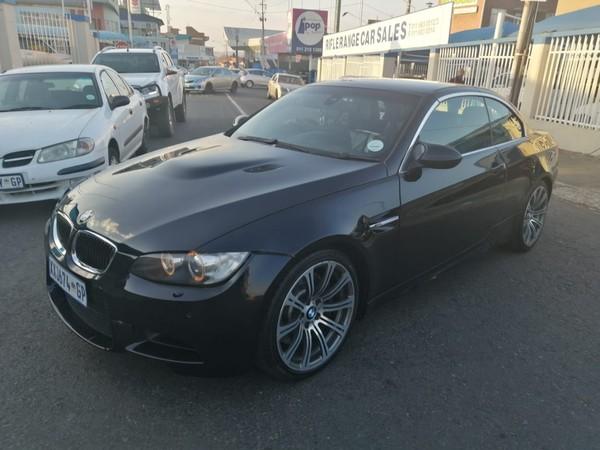 2009 BMW M3 Convertible M-dct  Gauteng Rosettenville_0