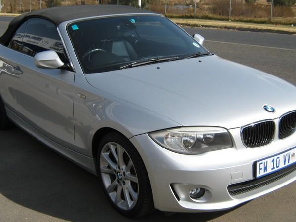 2012 BMW 1 Series 125i Convertible  Gauteng Boksburg_0