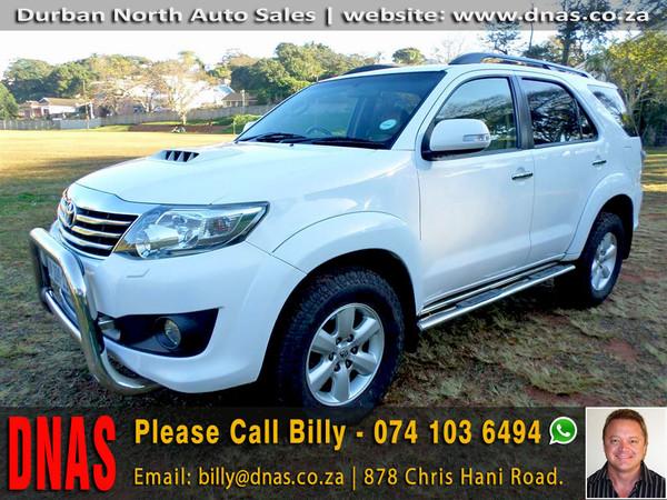 2012 Toyota Fortuner 3.0d-4d Heritage Rb  Kwazulu Natal Durban North_0