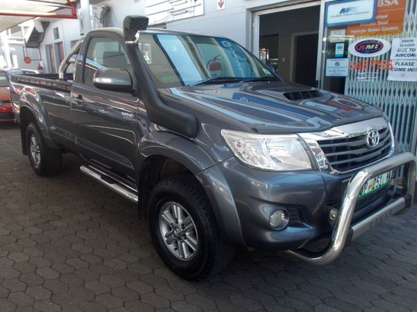2014 Toyota Hilux 3.0 D-4d Raider 4x4 Pu Sc  Gauteng Pretoria North_0