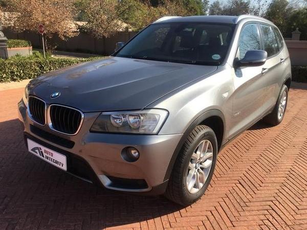 2012 BMW X3 Xdrive20i  At  Gauteng Pretoria_0