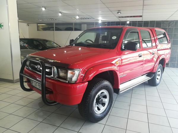2001 Toyota Hilux 2700i Raider Rb Pu Dc One owner Gauteng Edenvale_0