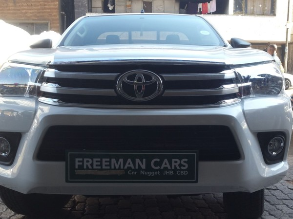 2017 Toyota Hilux 2.4 GD-6 SR Single Cab Bakkie Gauteng Johannesburg_0