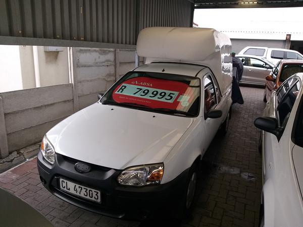 2010 Ford Bantam 1.3i Ac Pu Sc  Western Cape Parow_0