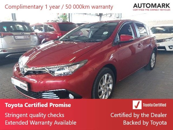 2018 Toyota Auris 1.6 XS Eastern Cape King Williams Town_0