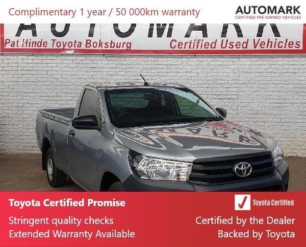 2019 Toyota Hilux 2.4 GD Single Cab Bakkie Gauteng Boksburg_0