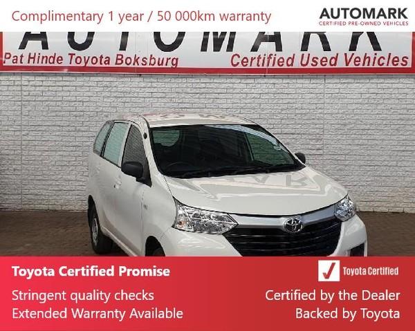 2018 Toyota Avanza 1.3 S FC PV Gauteng Boksburg_0