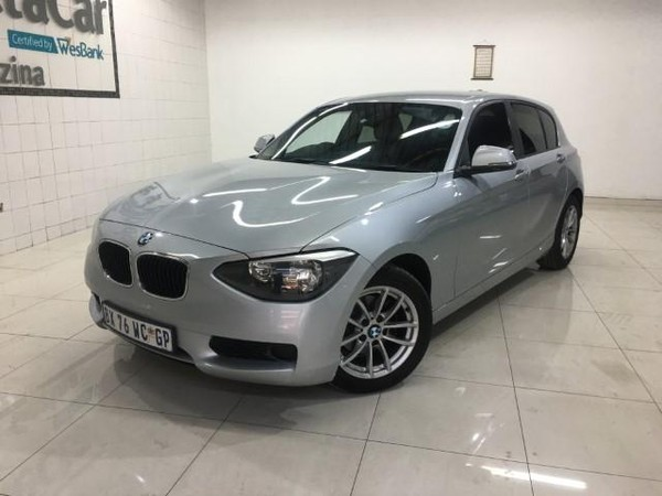 2012 BMW 1 Series 116i 5dr f20  Gauteng Pretoria_0