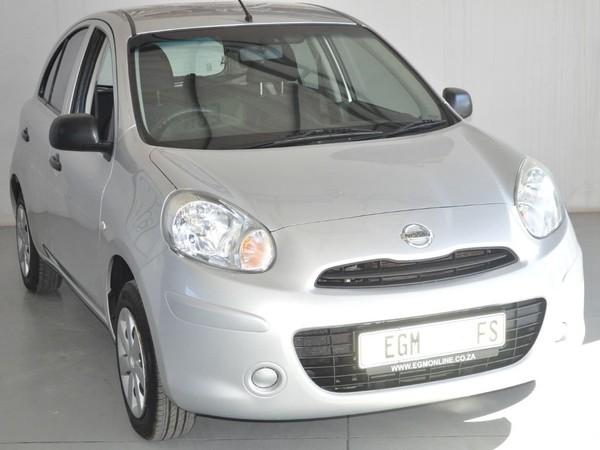 2015 Nissan Micra 1.2 Visia Insync 5dr d86v  Free State Bloemfontein_0
