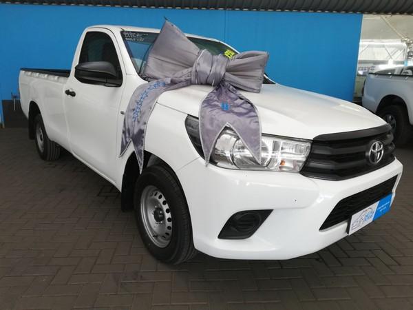 2016 Toyota Hilux 2.4 GD AC Single Cab Bakkie Gauteng Vereeniging_0