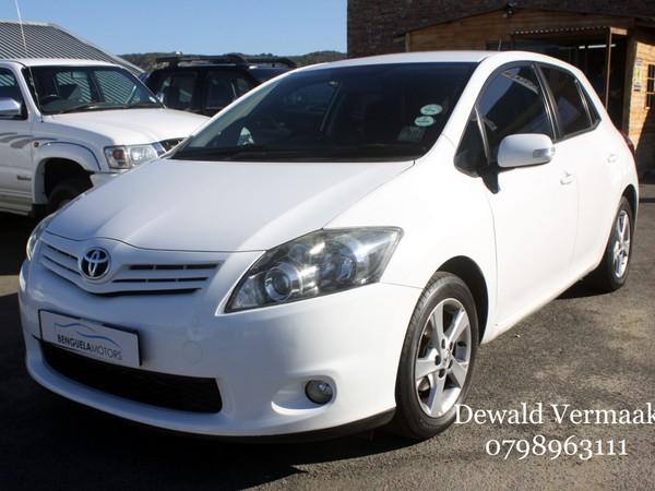 2011 Toyota Auris 1.6 Xs  Western Cape Mossel Bay_0
