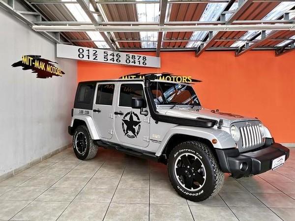 2009 Jeep Wrangler 2.8 Crd Unltd Sahar At  Gauteng Pretoria_0