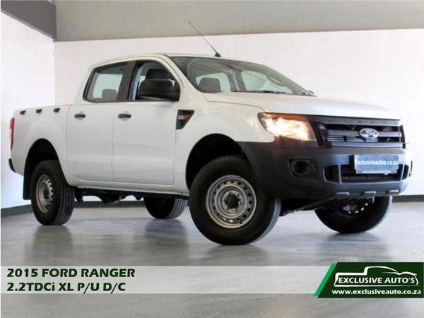 2015 Ford Ranger 2.2tdci Xl Pu Dc  Gauteng Pretoria_0