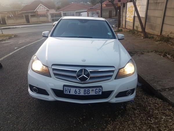 2013 Mercedes-Benz C-Class C200 Cgi Be Avantgarde At  Gauteng Johannesburg_0