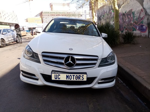2011 Mercedes-Benz C-Class C350 Elegance At  Gauteng Germiston_0