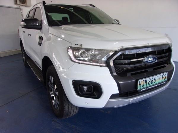 2019 Ford Ranger 2.0TDCi Wildtrak Auto Double Cab Bakkie Free State Kroonstad_0