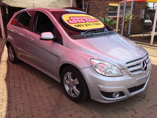 2006 Mercedes-Benz B-Class B 200 Turbo At  Gauteng Meyerton_0