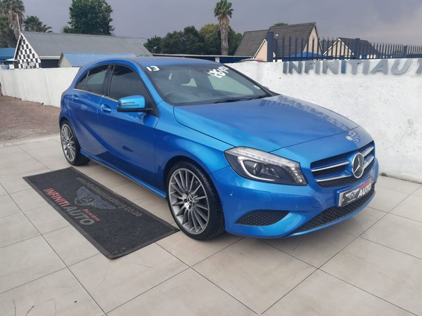2013 Mercedes-Benz A-Class A 200 Be At  Gauteng Boksburg_0