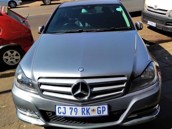 2012 Mercedes-Benz C-Class C200 Cgi Be Avantgarde At  Gauteng Pretoria_0